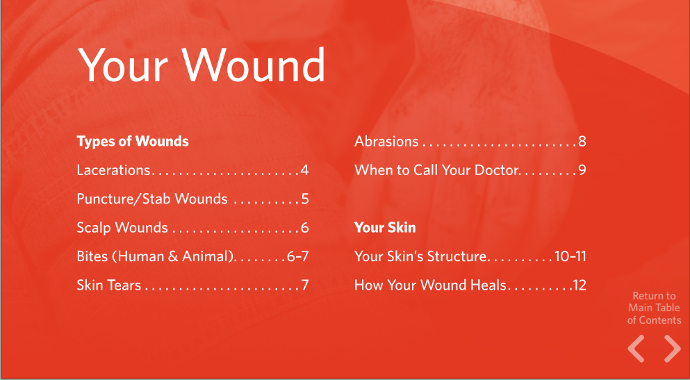 hướng dẫn chăm sóc vết thương