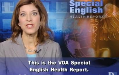 Luyện nghe bản tin tiếng Anh y khoa VOA 23