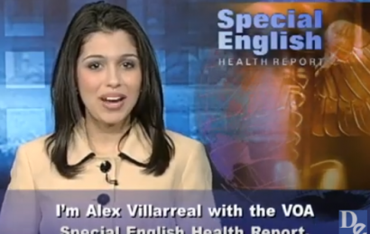 Luyện nghe bản tin tiếng Anh y khoa VOA 67