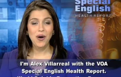 Luyện nghe bản tin tiếng Anh y khoa VOA 77