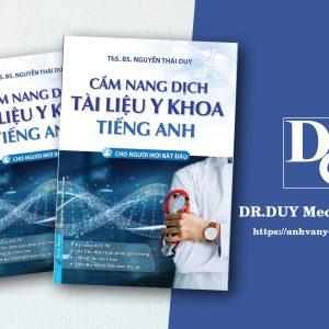 sách hướng dẫn tự học dịch tài liệu tiếng anh y khoa