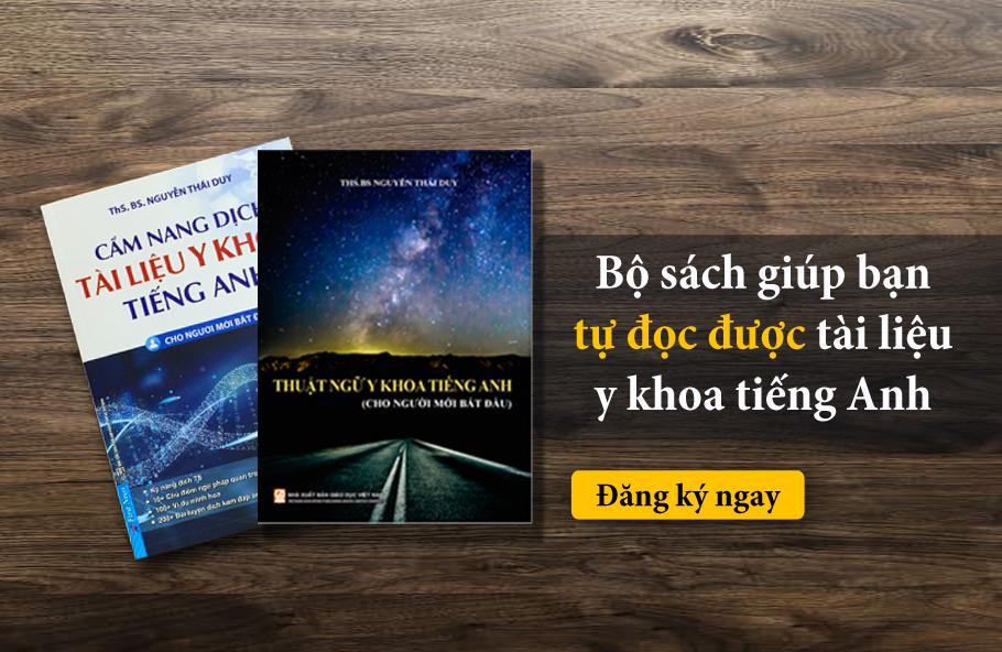sách tiếng anh chuyên ngành y khoa cho người mới bắt đầu